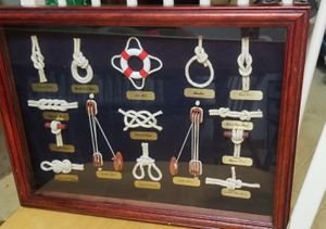 Nautical knots picture for Sale in MONTGMRY, IL