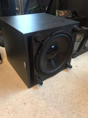 Acoustic audio subwoofer for Sale in Stockton, CA