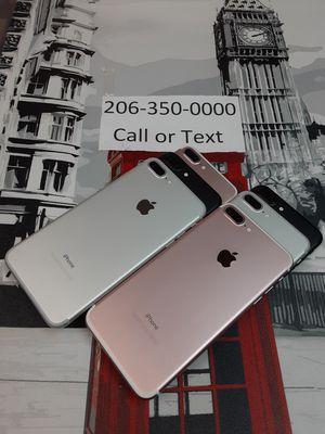 iPhone 7 plus tmobile .metro pcs for Sale in Seattle, WA