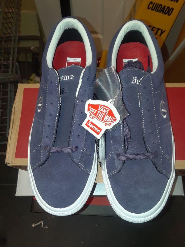 Vans pro supreme skateboard shoe 9.5 men