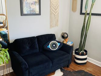 Black Loveseat Couch for Sale in Nashville,  TN