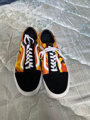 Orange camo vans size 9.5 for Sale in North Palm Beach, FL