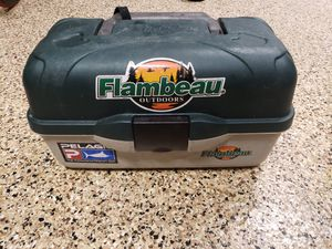 Flambeau Tackle Box - Fishing Lure Storage for Sale in Lake Forest, CA