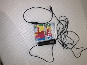 Wii Disney Sing It game - comes with Microphone for Sale in Boca Raton, FL