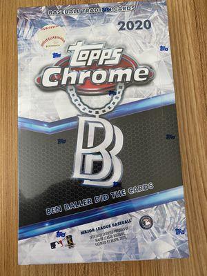 TOPPS TOPPS Chrome Baseball Ben Baller SEALED Box Edition for Sale in Orlando, FL