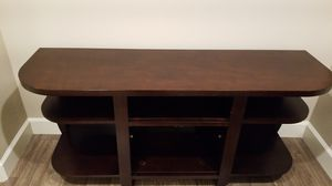 TV Console Table (Espresso finish) for Sale in Fremont, CA