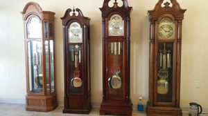 4 grandfather clock for sale for Sale in Denver, CO