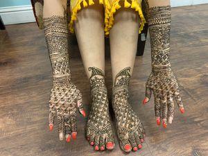 Bridal henna for Sale in Fresno, CA