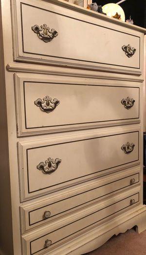 White dresser for Sale in Morgantown, WV
