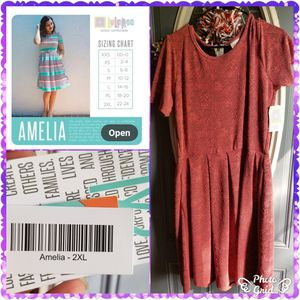 Lularoe Amelia dress with pockets for Sale in Elyria, OH