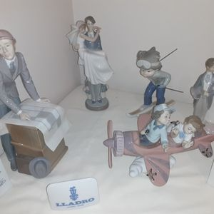 Lladro Figurines $29 To $125 Each for Sale in Hoffman Estates, IL
