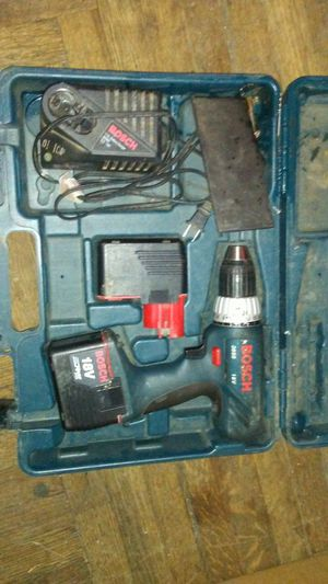 18v Bosch Drill Xtra Batt. & Charger for Sale in Decatur, IL