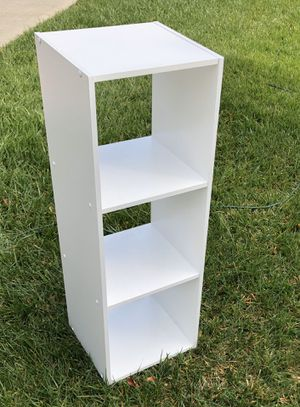 3 tier White shelf, shelving or shelves for Sale in Oceanside, CA