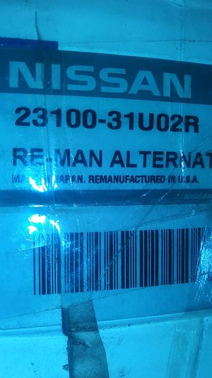 Nissan Alternator. Part # 23100-31U02R for Sale in Las Vegas, NV