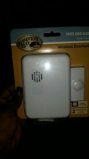 2 Hampton bay wireless door bells for Sale in Cleveland, OH