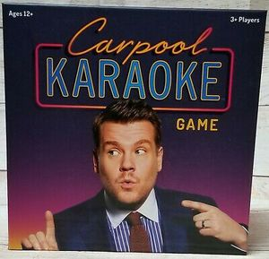 CARPOOL KARAOKE GAME THE LATE SHOW WITH JAMES CORDEN for Sale in Altadena, CA