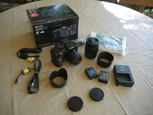 New! Lumix G7 with 2 Lenses! for Sale in Denver, CO