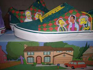 Vans X Simpsons Collab Moe's sz 9.5 for Sale in Austin, TX
