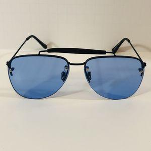 Black/Blue Aviator Sunglasses for Sale in Fullerton, CA