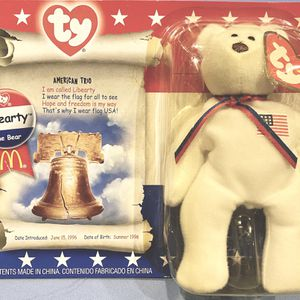 Liberty The bear Ty Beanie Baby 1996 for Sale in Puyallup, WA