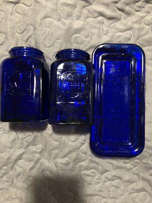 Blue glass for Sale in Tukwila, WA