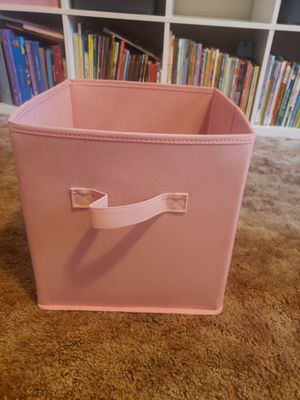 Cubes / boxes organizer (6 pink & 6 grey) for Sale in Long Beach, CA