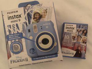 Fijifilm instax mini 9 Frozen II edition for Sale in Portsmouth, VA