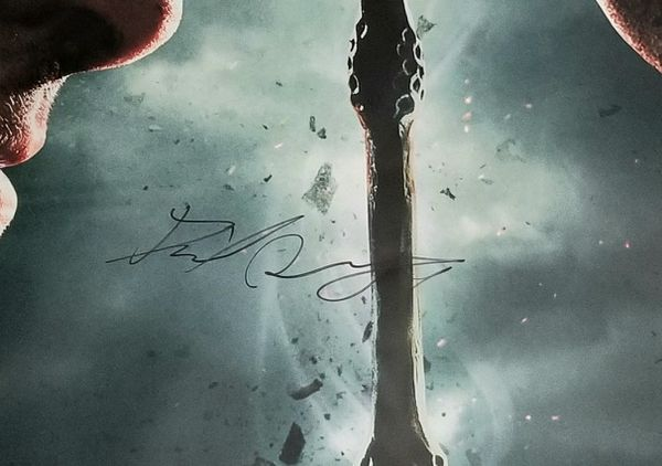 Harry Potter Signed Poster.