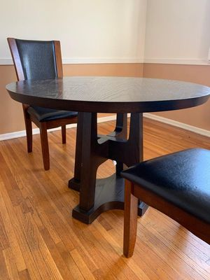 Wooden Dining Table + Chairs for Sale in Beverly Hills, CA