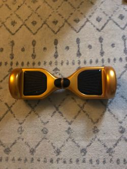 Gold hoverboard Used works like new for Sale in Gresham,  OR