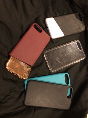 iPhone 7/8plus cases for Sale in Fort McDowell, AZ