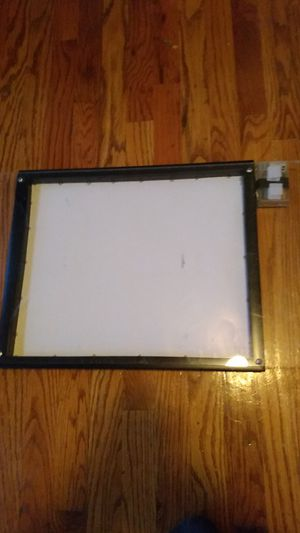 Homemade light box for drawing for Sale in Chicago, IL