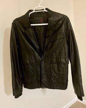 Guess vintage leather jacket / XL / Black for Sale in Centreville, VA