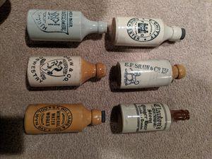 Antique stoneware bottles for Sale in Mechanicsville, VA