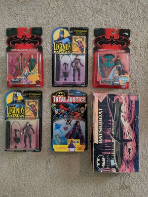Vintage Batman Action Figure Lot for Sale in Goodyear, AZ