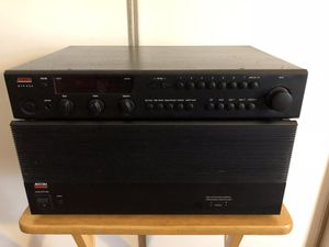 ADCOM GFA-555 Power Amp & Adcom GTP 450 Preamp OBO for Sale in Woodbridge, VA