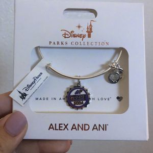 Disney Alex and Ani Up Grape Soda Bracelet for Sale in Walnut, CA