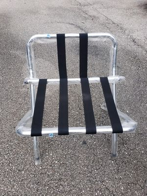 KINGS METAL FOLDING LUGGAGE RACK NEW for Sale in Boca Raton, FL