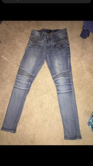 Men Biker Jeans Size 32 for Sale in Forestville, MD