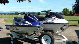 1999 Yamaha WaveRunners with trailer for Sale in Canby, OR
