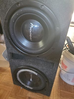 Pioneer 800w Subwoofer speakers for Sale in Melrose Park, IL