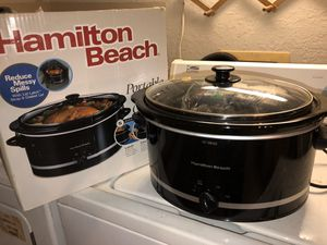 Hamilton beach crock pot large for Sale in Orlando, FL