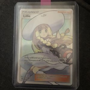 Lillie Full Art Trainer Card From Pokémon Sun And Moon for Sale in Oregon City, OR