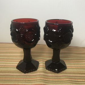 D0090 Avon capecod glass goblets for Sale in Glendale, AZ