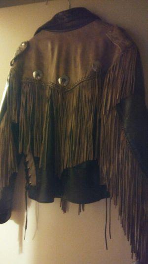 Womens fringe jacket medium for Sale in Carnegie, PA