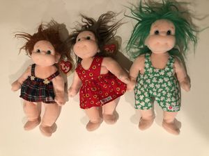 TY Beanie Kids Collectible (Ginger, Cookie, & Shenanigan) for Sale in Westminster, CA