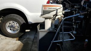 Johnson 9.9 HP long shaft outboard for Sale in Fountain Valley, CA