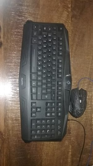 LED light up gaming keyboard and mouse for Sale in Santa Maria, CA