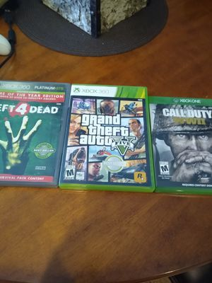 Quarantine Clean Out Xbox 360 games and Kinect 2 controls for Sale in Las Vegas, NV