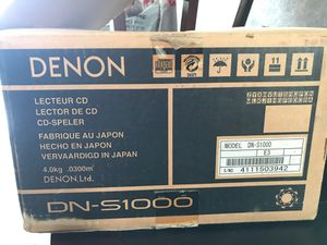 DJ CD mixer and player, DN S1000 for Sale in Austin, TX
